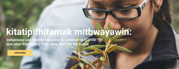Kitatipithitamak mithjwaywin webinar explores pandemics in the time of COVID