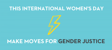 Take action on International Women's Day