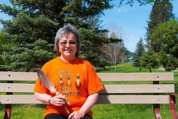 """""""Returning Home and Pathways to Reconciliation"""" Film screening and conversation with Orange Shirt Day originator Phyllis Webstad"""