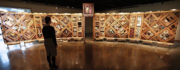 """Virtual Event: """"Picking up the Pieces: The Making of the Witness Blanket"""" Film Screening and conversation with Kwagiulth master carver Carey Newman and his sisters Marion and Ellen"""